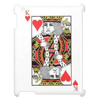 King of Hearts Case For The iPad 2 3 4