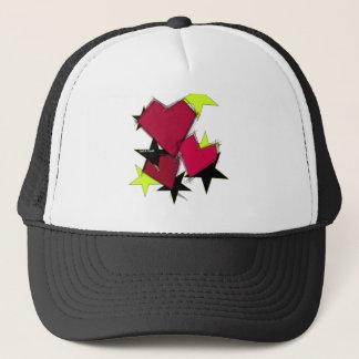 King of Hearts Crown Trucker Hat