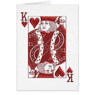 King of Hearts, Father's Day Card
