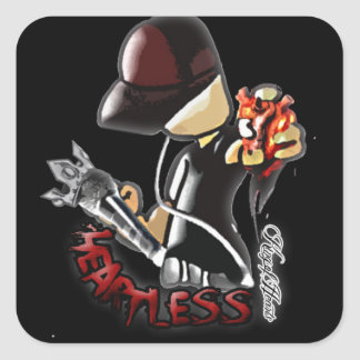 """King of Hearts """"Heartless"""" Stickers"""