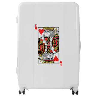 King of Hearts Luggage