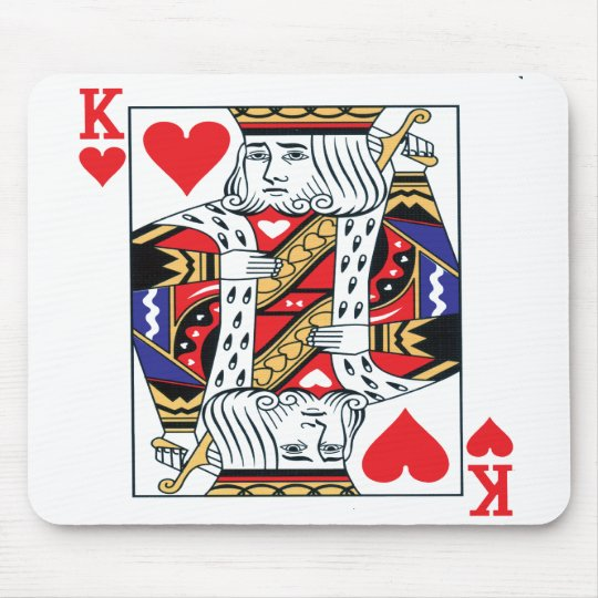 King of Hearts Mouse pad