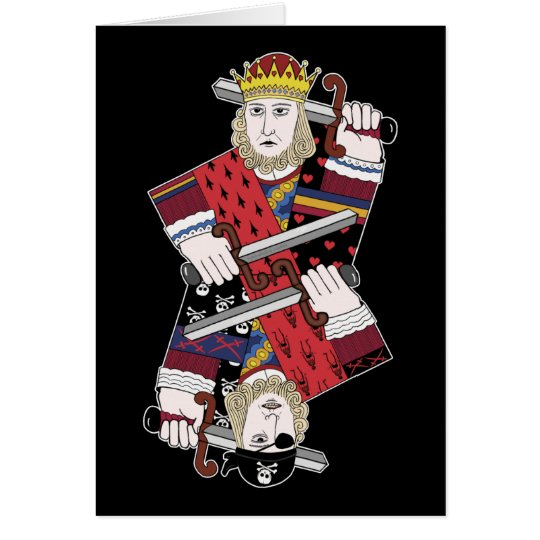 King Of Hearts & Pirate Too Card
