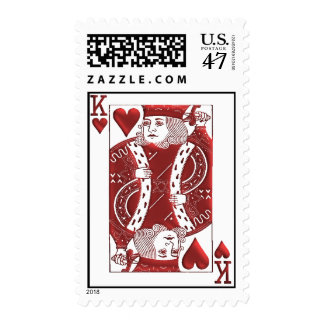 King of Hearts postage