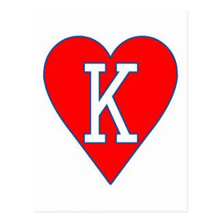 King of Hearts Postcard