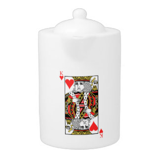 King of Hearts Teapot