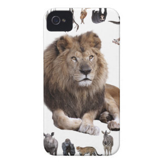 King of hundred animals iPhone 4 Case-Mate case