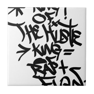king of hustle ceramic tile