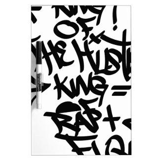 king of hustle Dry-Erase board