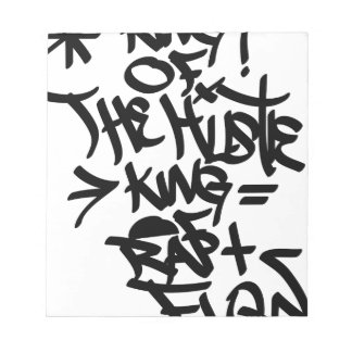 king of hustle notepad
