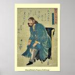 King of Italy by Utagawa,Yoshitsuya Print