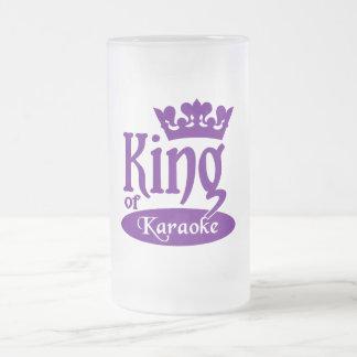 King of Karaoke mug - choose style & color