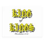 King of Kings christian gift item Postcard