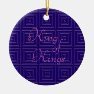 King of Kings Christmas ornament