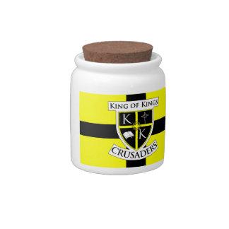 King of Kings Crusaders Candy Jar
