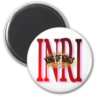 KING OF KINGS 2 INCH ROUND MAGNET