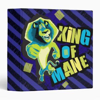 King of Mane 3 Ring Binders