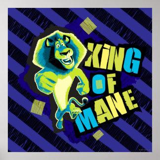 King of Mane Poster