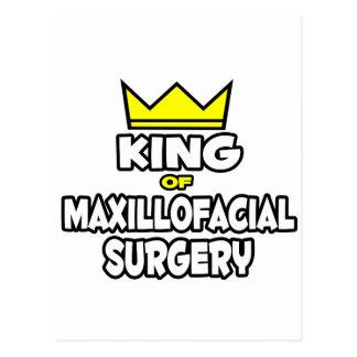 King of Maxillofacial Surgery Postcard