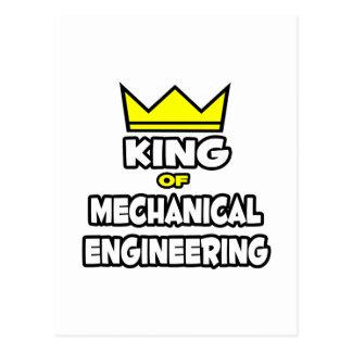 King of Mechanical Engineering Postcard