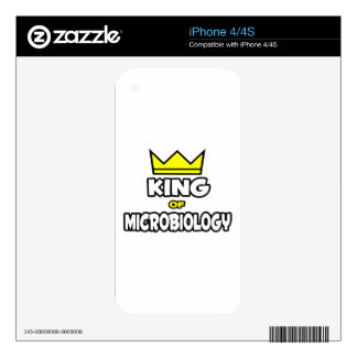 King of Microbiology Decals For The iPhone 4