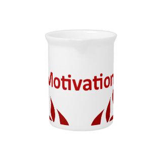 king of motivation drink pitcher