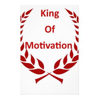 king of motivation stationery