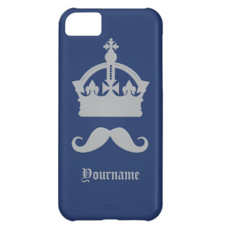 King of Mustaches custom cases iPhone 5C Cases
