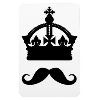 King of Mustaches custom magnet