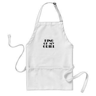King Of My Grill.. Adult Apron