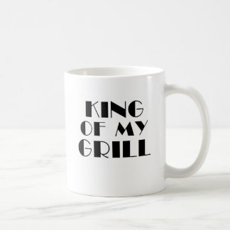 King Of My Grill.. Coffee Mugs