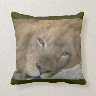 King of Nap Time Throw Pillows