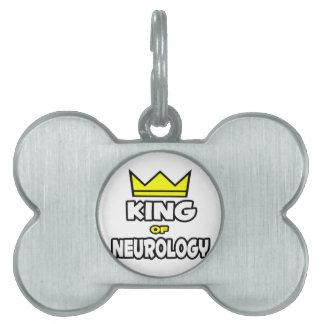 King of Neurology Pet ID Tags