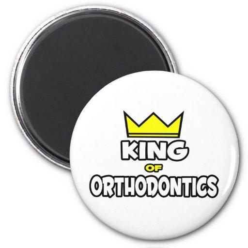 King of Orthodontics Fridge Magnets