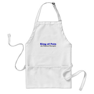 King of Pain aka Physical Therapist Adult Apron