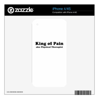 King of Pain aka Physical Therapist Skins For iPhone 4S