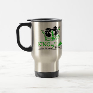 """King of Pain"" Physical Therapy Travel Mug"