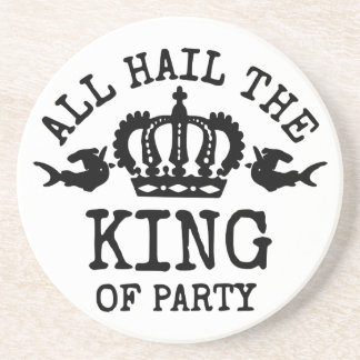 King of Party Drink Coaster