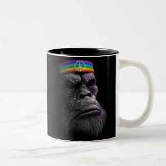 King of Peace Two-Tone Coffee Mug