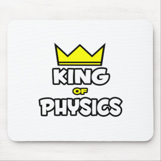 King of Physics Mouse Pad