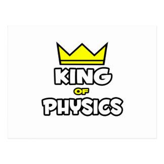 King of Physics Postcard