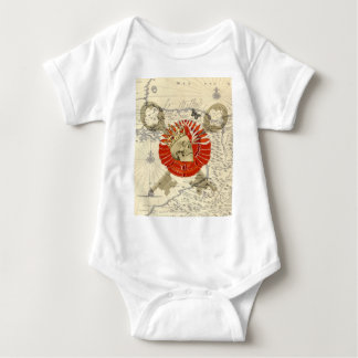 King of Pirates Baby Bodysuit