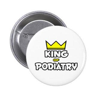 King of Podiatry Pinback Button