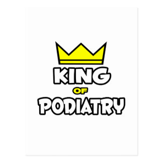 King of Podiatry Postcard