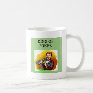 king of poker mugs