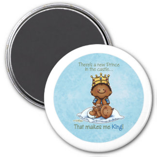 King of Prince African American Big Brother magnet