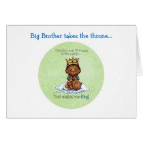 King of Princess - African American Card