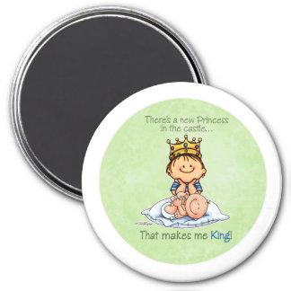 King of Princess - Big Brother magnet