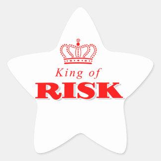 King of Risk Star Sticker