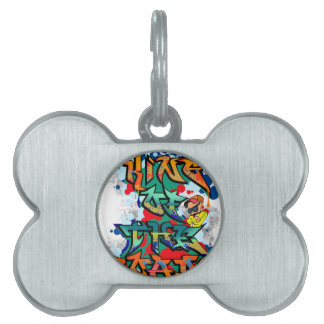 King of Roads Pet Tag